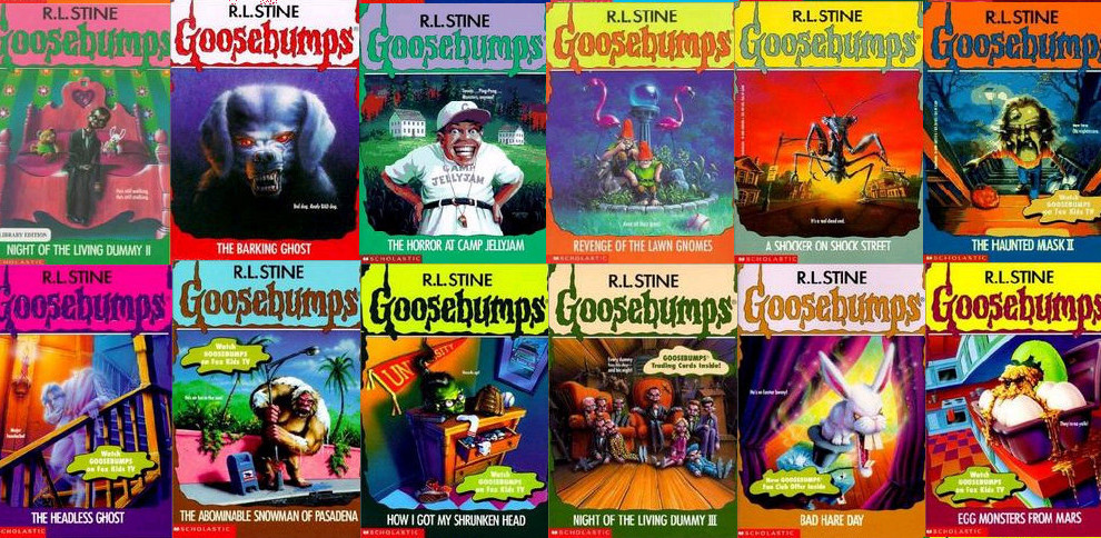 Dear R.L. Stine: Thank you.